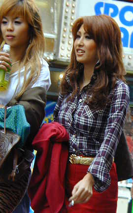 Shibuya girls japan photo